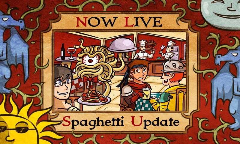 spaghetti update